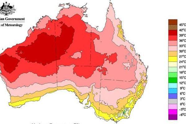Australie Chaleur record mars 2019