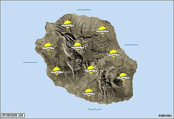 Carte météo 7 octobre 2020