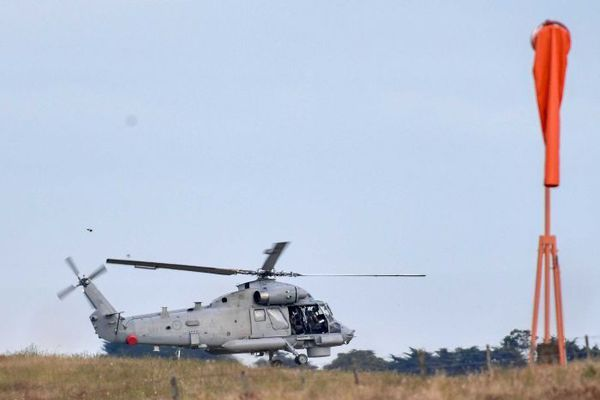 Volcan NZ hélicoptère