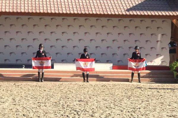 Podium 100% polynésien au championnat de France outremer d'équitation