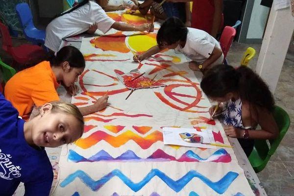Des ateliers d'arts plastiques au Conservatoire pendant les vacances