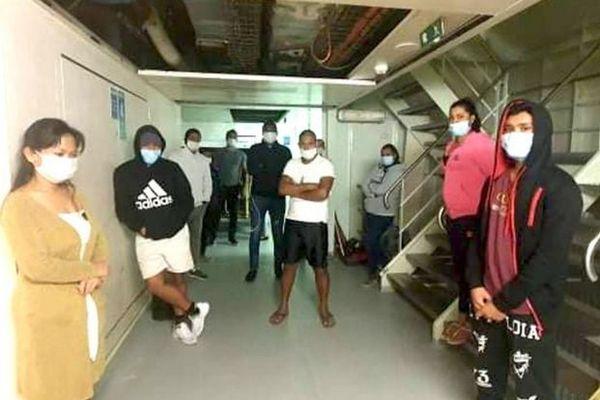 Covid-19 employés mauriciens du MSC Orchestra bloqués à Durban