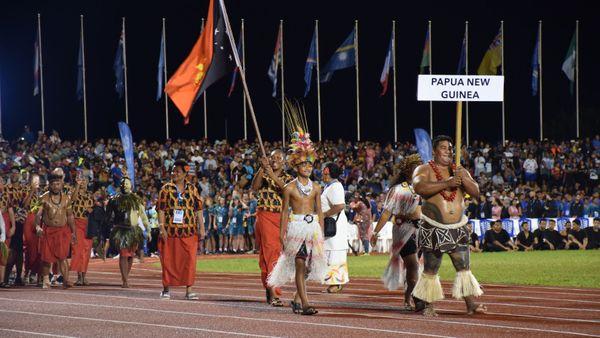 Samoa 2019, cérémonie d'ouverture