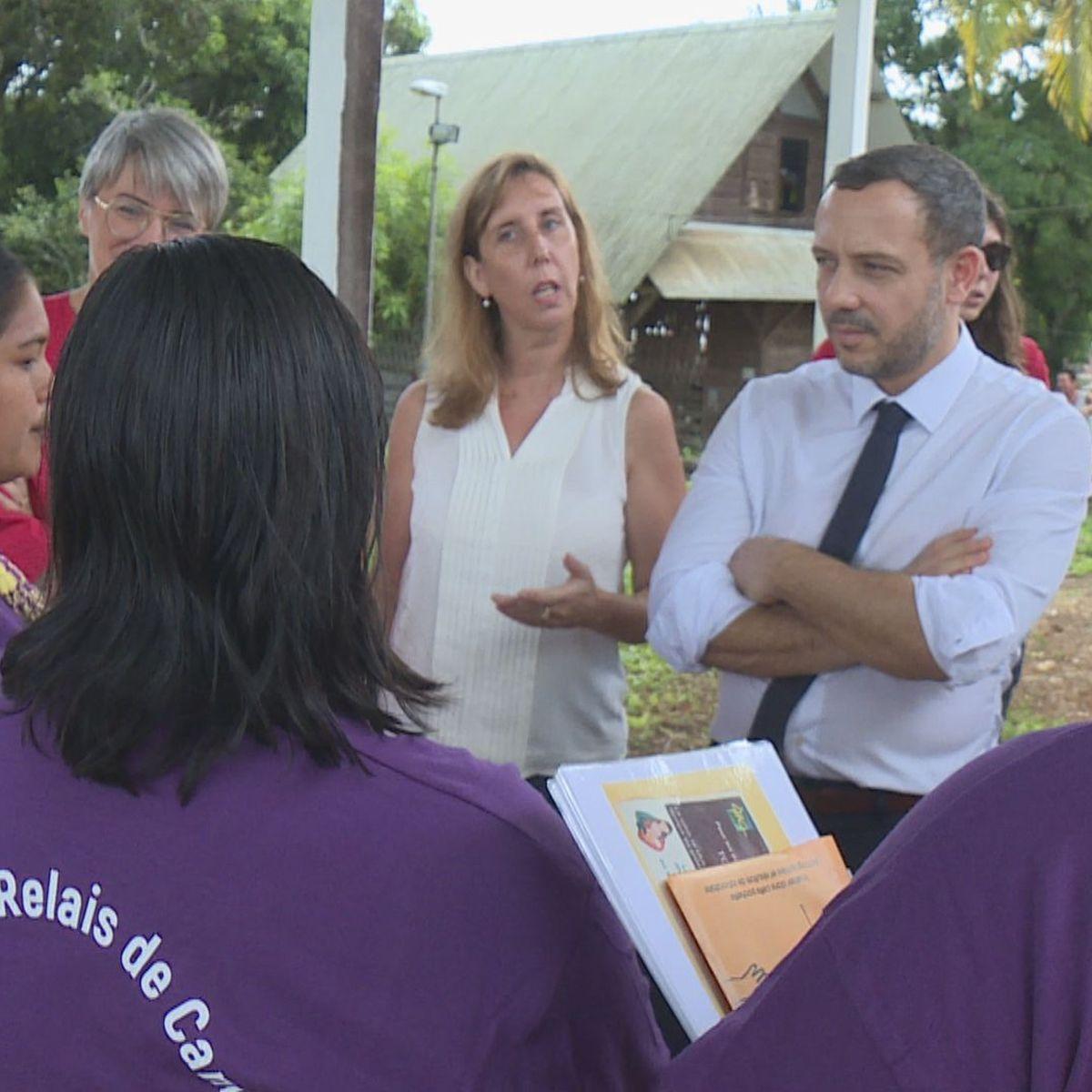 Adrien Taquet a terminé son état des lieux de la protection de l'enfance en Guyane en se rendant à Camopi et Saint-Georges