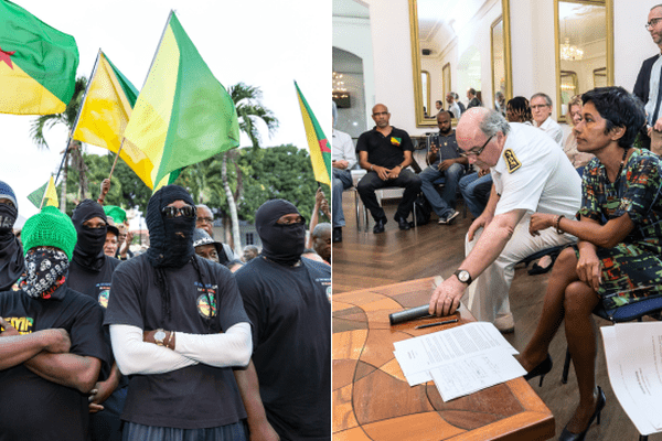 Guyane poursuite de la grève