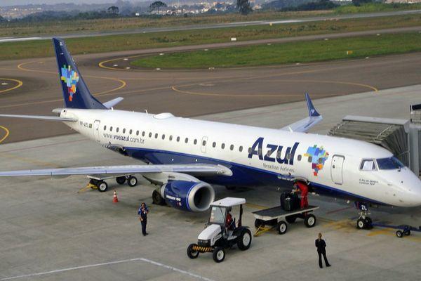 Avion compagnie Azul