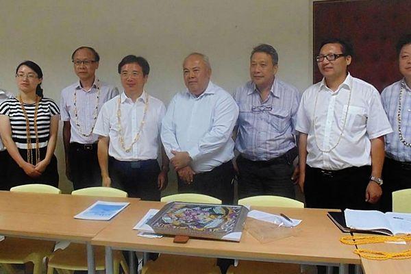 Des Chinois de Zhoushan prospectent en Polynésie