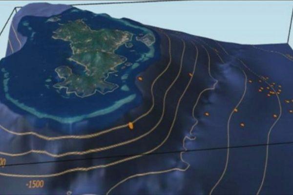 Mayotte découverte d'un volcan sous-marin