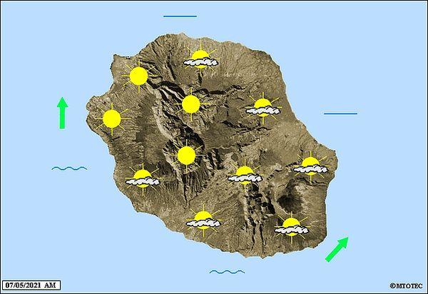 Carte météo 7 mai 2021