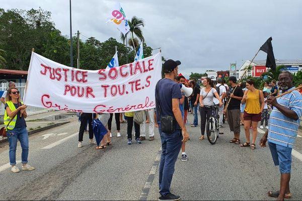 Grève retraite Saint-Laurent
