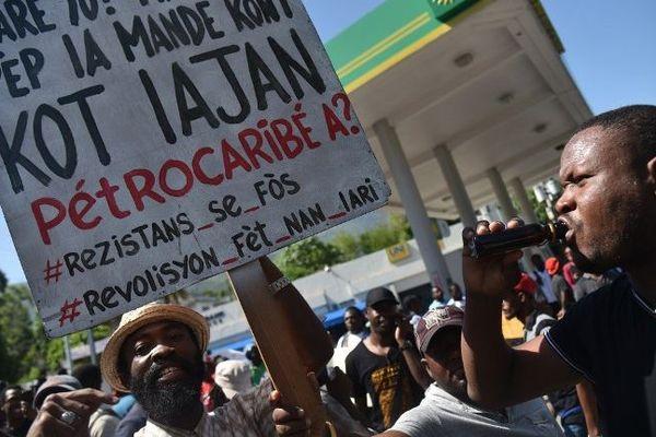 haiti manifs