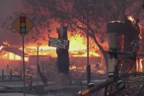 La ville de Paradise, 26 000 habitants, totalement détruite