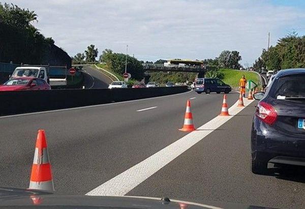 accident de la route Sainte-Marie sortie Bagatelle 060719