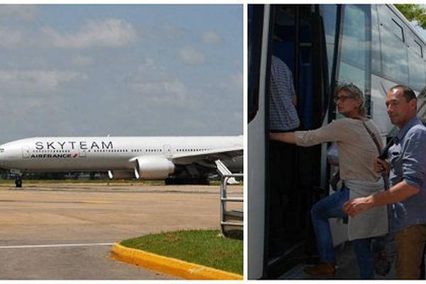 air France colis suspect Kenya