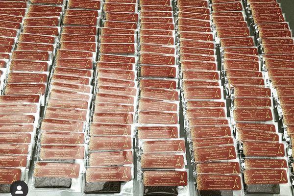 La barre chocolatée de Rodrigue Joab