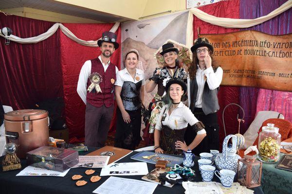 Week-end geek 2020, maison des artisans, Nouméa, Salin, steampunk