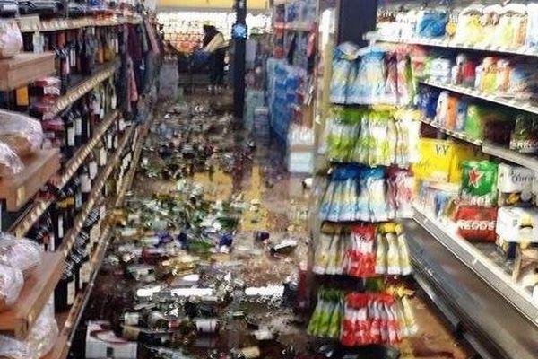 tremblement de terre californie