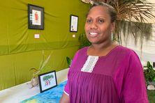 Waehla Sonia Hotere, auteure et éditrice à Lifou