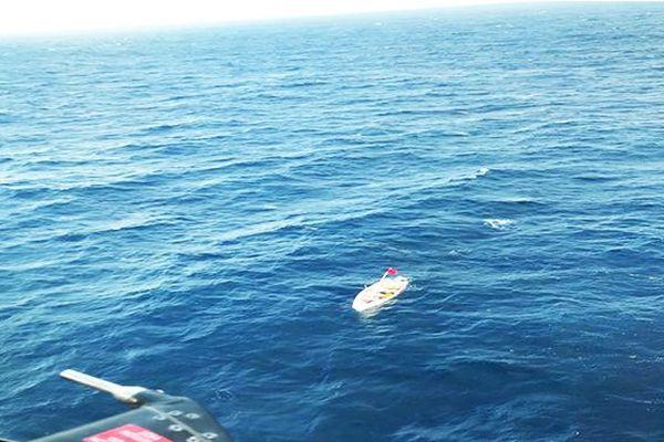 sauvetage de quatre pêcheurs