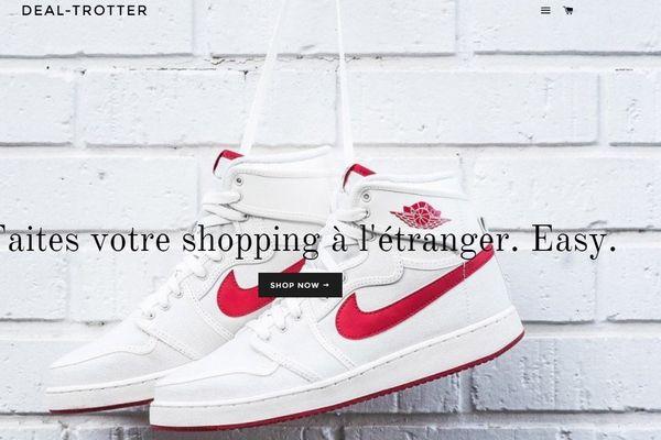 Capture d'écran Deal-Trotter.com