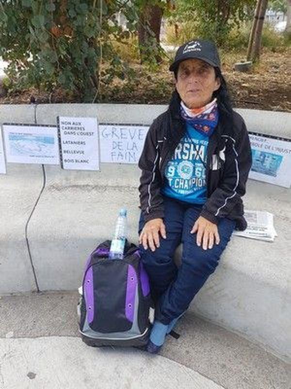 Grève de la faim pour la médiathèque Cimendef 071018
