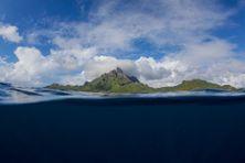 Le lagon de Bora Bora, en Polynésie