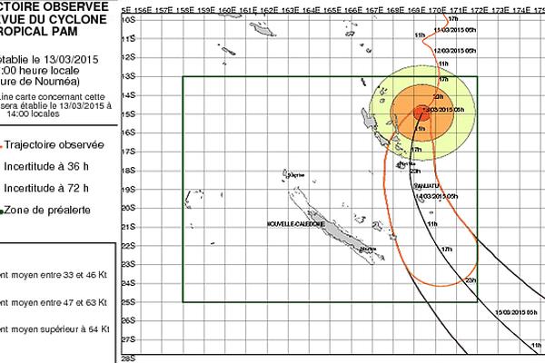 trajectoire pam3