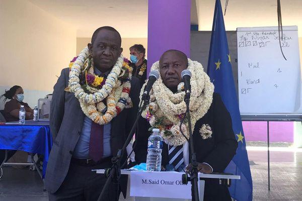 Saïd Omar Oili, président de l'Interco de Petite Terre