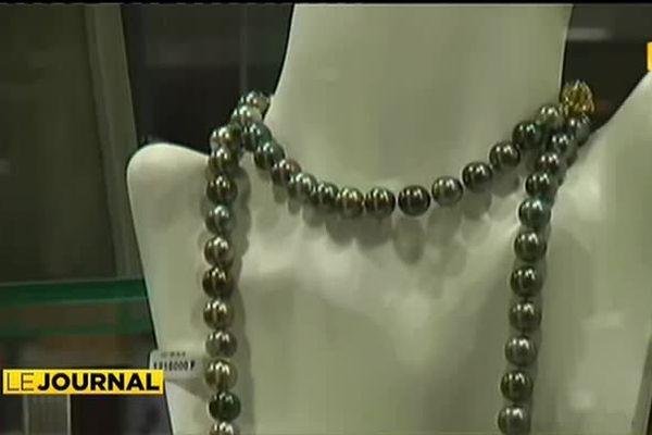 La perle de Tahiti, une star au Caillou !