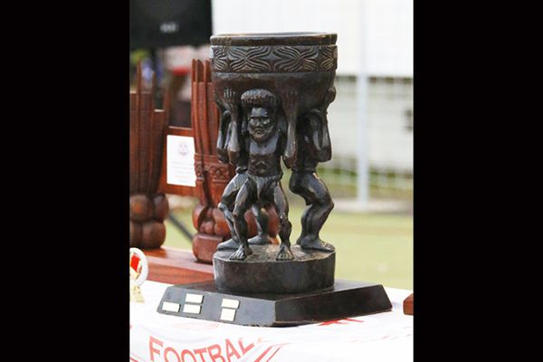 La coupe de Calédonie de football en 2020, trophée