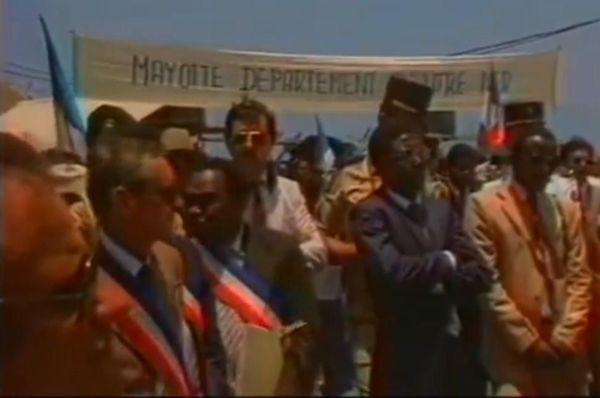Chirac à Mayotte