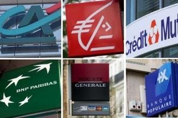 Logos des banques