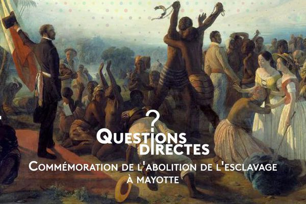 Commemoration de l'abolition de l'esclavage à Mayotte