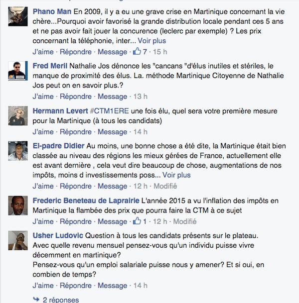 Facebook Martinique 1ère