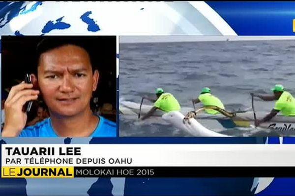 Domination sans partage des tahitiens à la Molokai Hoe