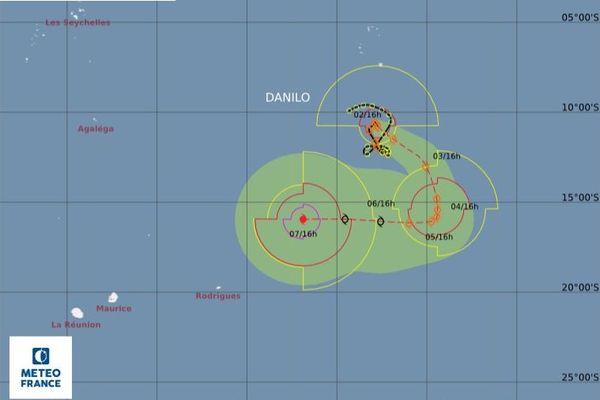 tempête tropicale Danilo système 020121