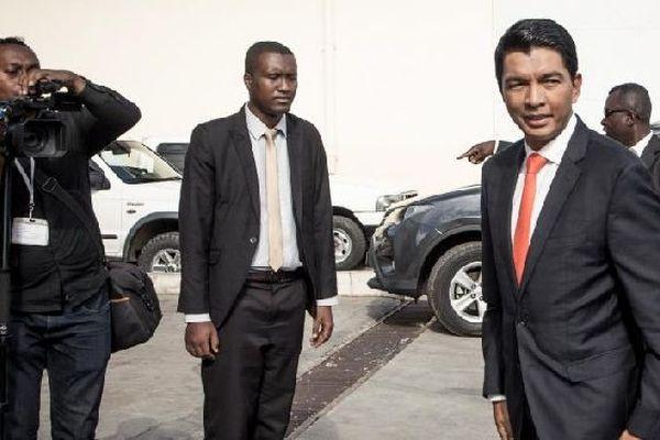 Andry Rajoelina, président de Madagascar, janvier 2019