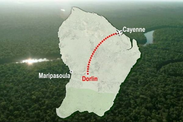 Carte de Maripasoula