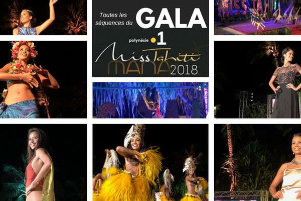Miss Tahiti : choisissez la séquence du gala que vous souhaitez revoir