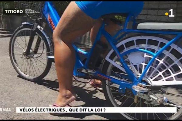 Ne pas confondre vélo électrique et cyclomoteur