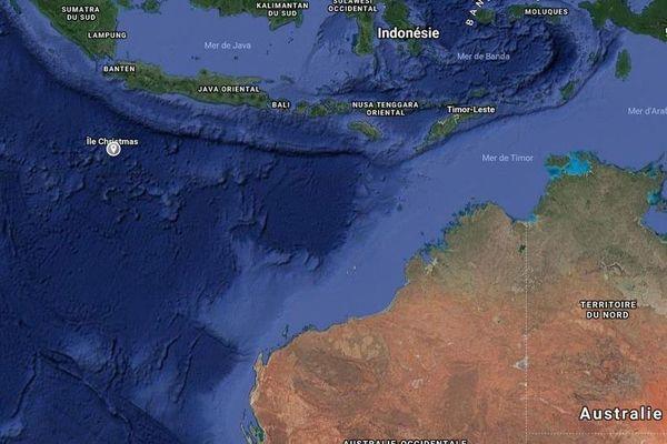 île Christmas : centre de rétention australien