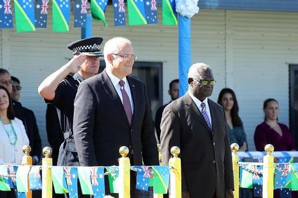 PM Australie et PM Salomon