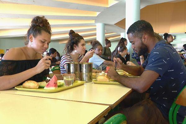 Cantines à l'unisson 2020, lycée du Grand Nouméa