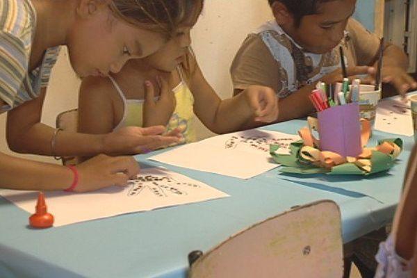 Ecole à Hao, Polynésie française