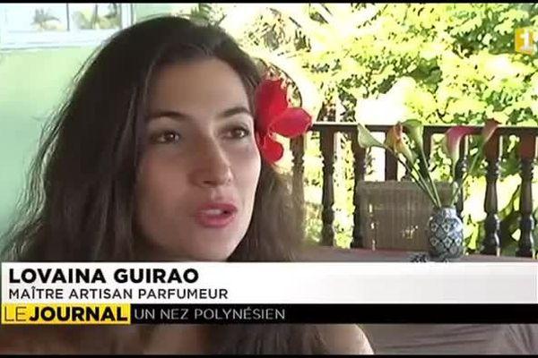 Lovaina Guirao, artisan parfumeur diplômée de l'école Guerlain à Paris