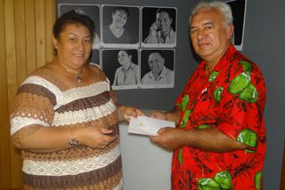 Tierry Tapu le grand gagnant d'un weekend à l'Intercontinental Moorea