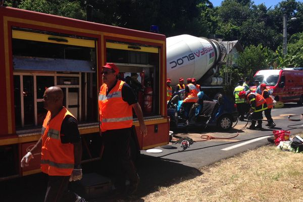 Accident mortel à Manapany