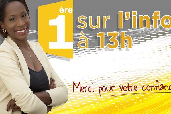 affiche Martinique 1ere