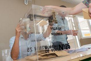 Bureau de vote nouméa