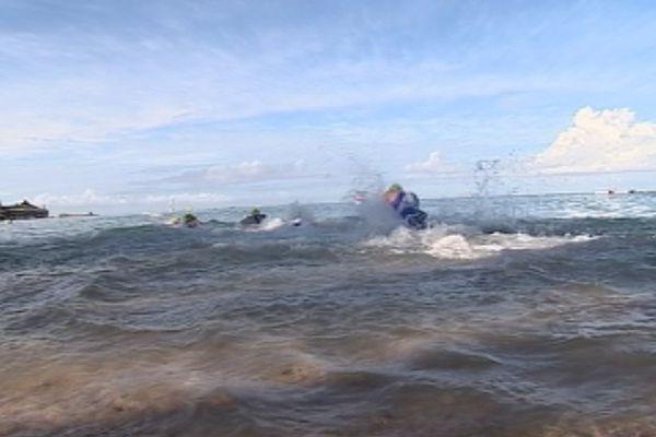 Le triathlon international de Nouméa 2016